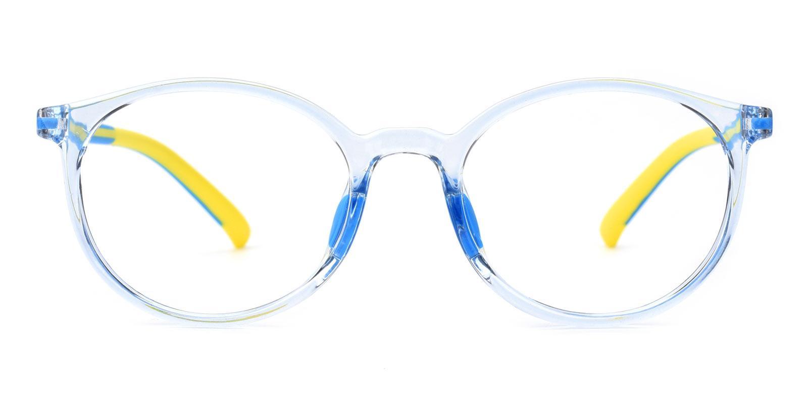 Alex-Blue-Oval-Plastic-Eyeglasses-detail