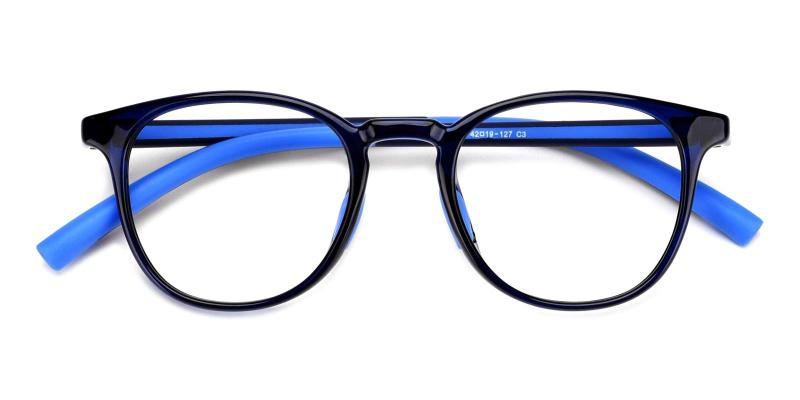 Elvis-Blue-Eyeglasses