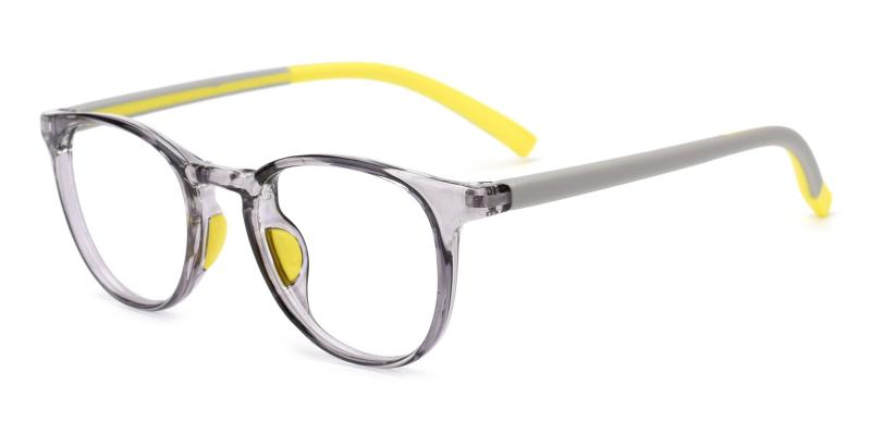 Elvis-Gray-Eyeglasses