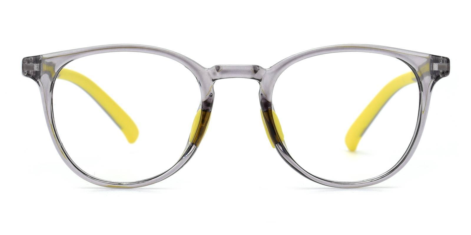 Elvis-Gray-Round-Plastic-Eyeglasses-detail