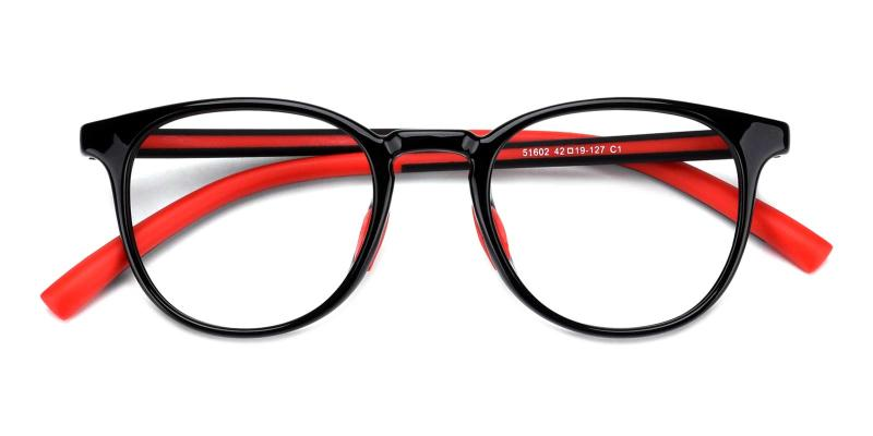 Elvis-Red-Eyeglasses