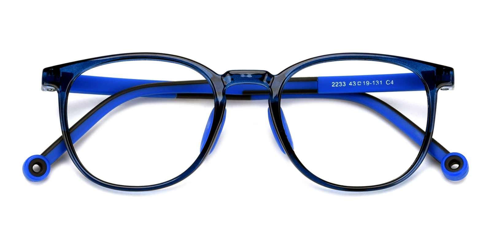 Jennifer-Blue-Round-Plastic-Eyeglasses-detail