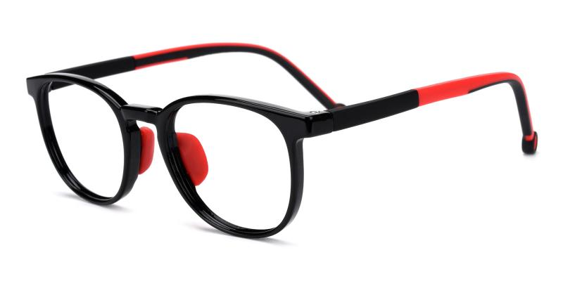 Jennifer-Red-Eyeglasses