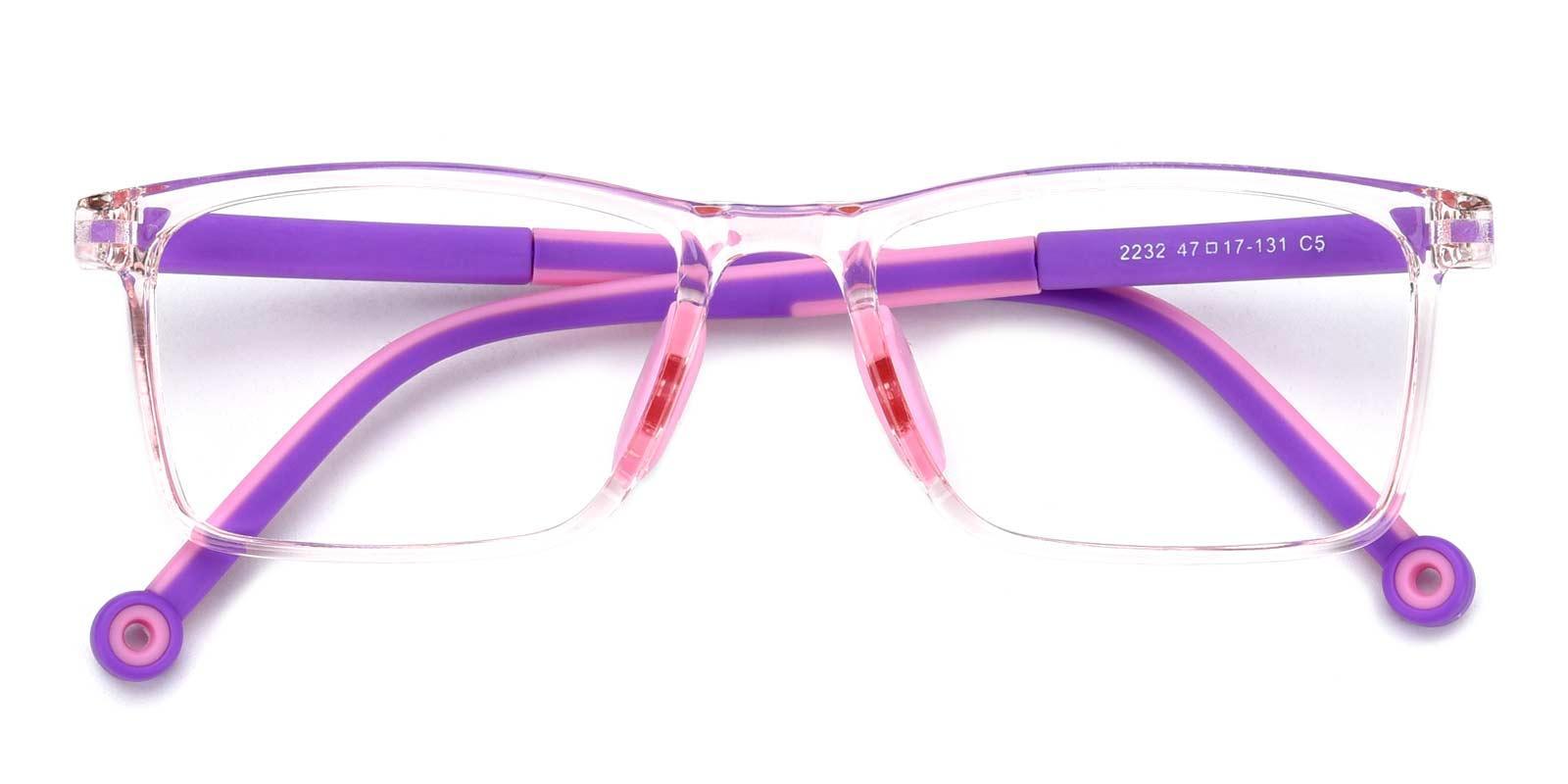 Lance-Pink-Rectangle-Plastic-Eyeglasses-detail