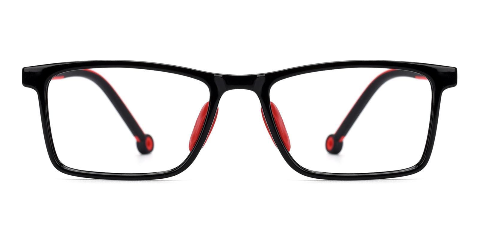 Lance-Red-Rectangle-Plastic-Eyeglasses-detail