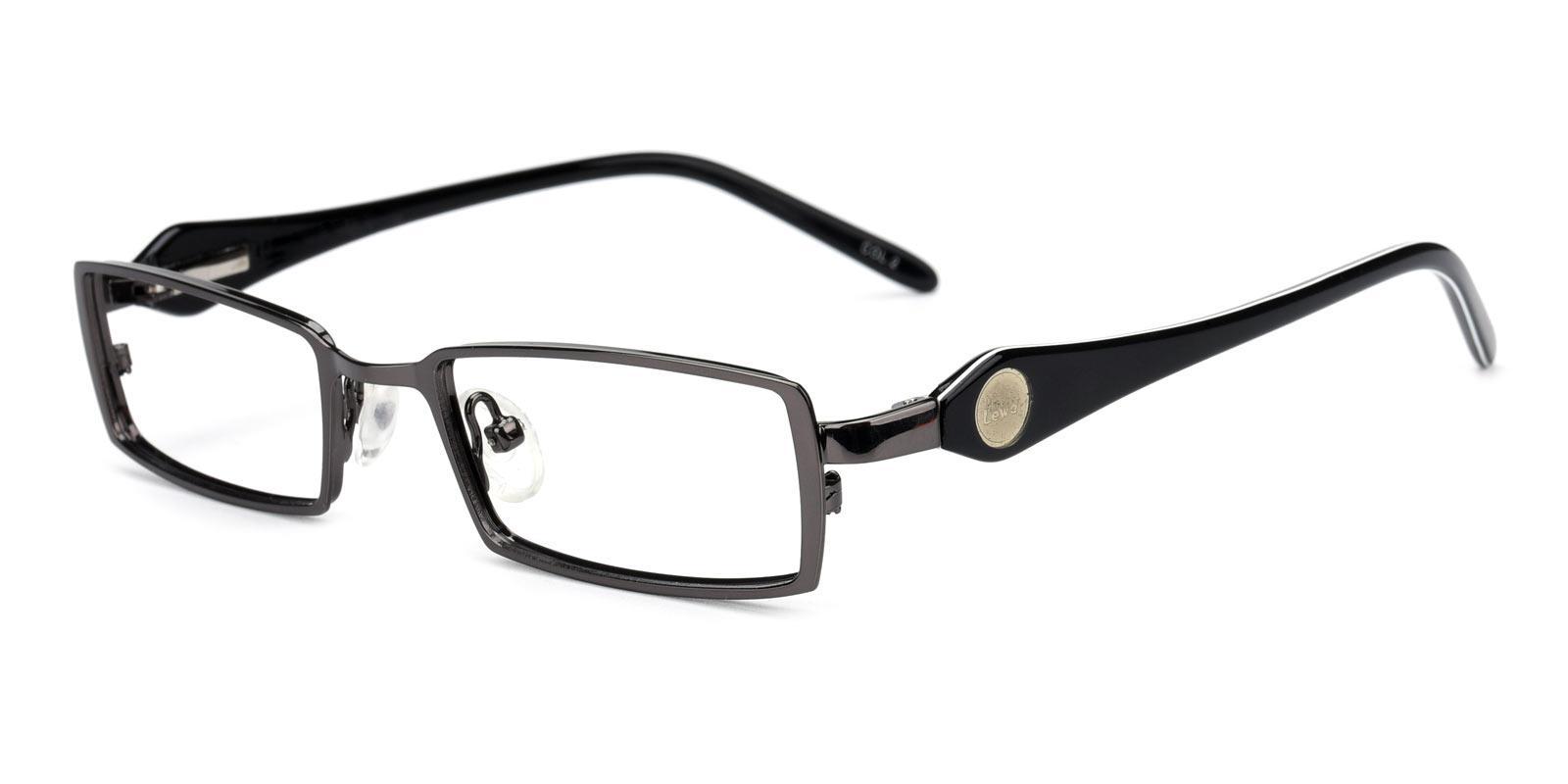 Galileo-Gun-Rectangle-Metal-Eyeglasses-detail