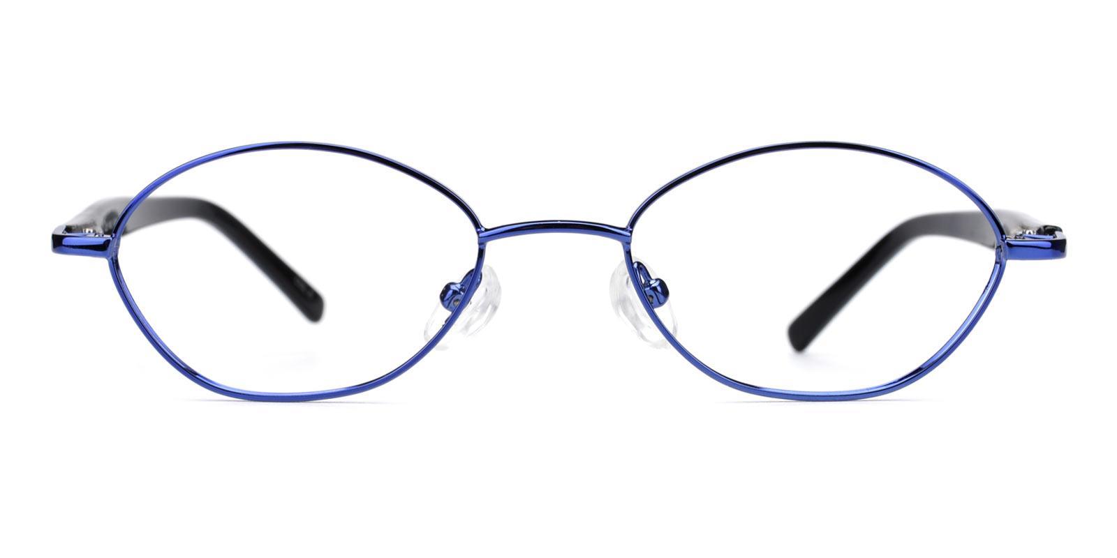 Lollipop-Blue-Oval-Metal-Eyeglasses-detail