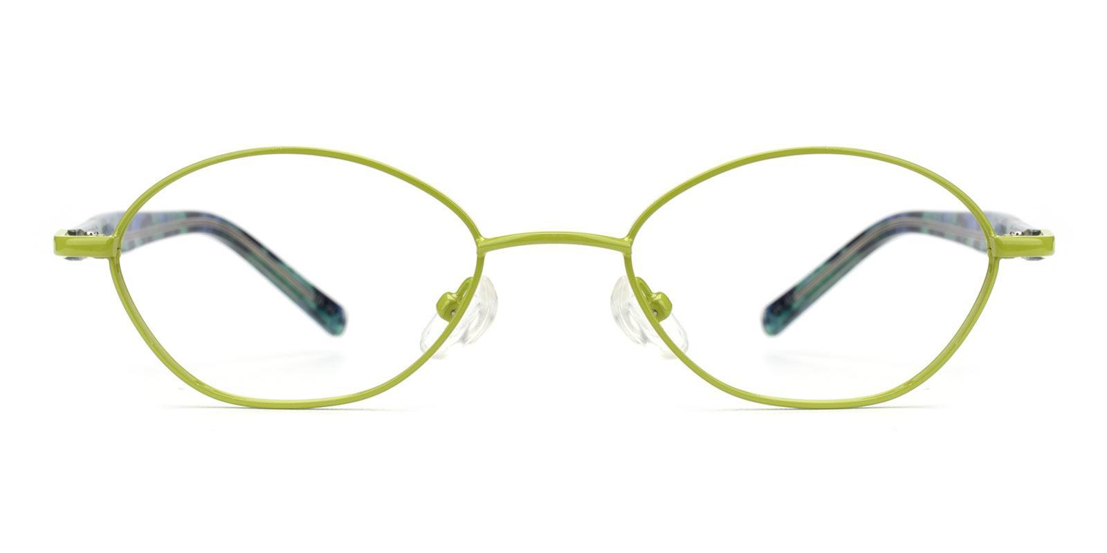 Lollipop-Green-Oval-Metal-Eyeglasses-detail