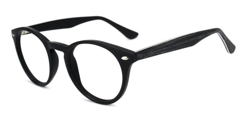 Silentmovie-Black-Eyeglasses