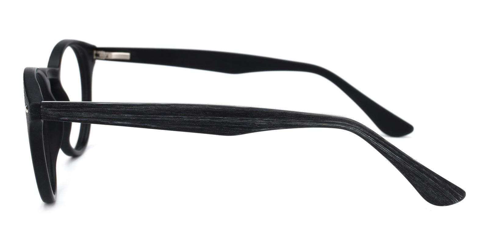 Silentmovie-Black-Round-Combination-Eyeglasses-detail