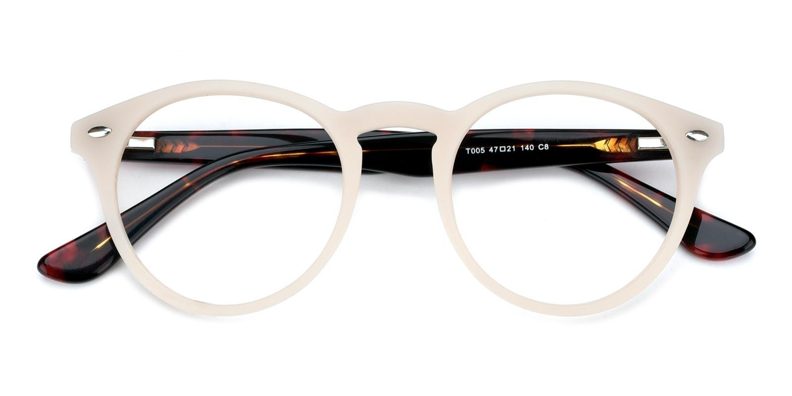Silentmovie-White-Round-Combination-Eyeglasses-detail