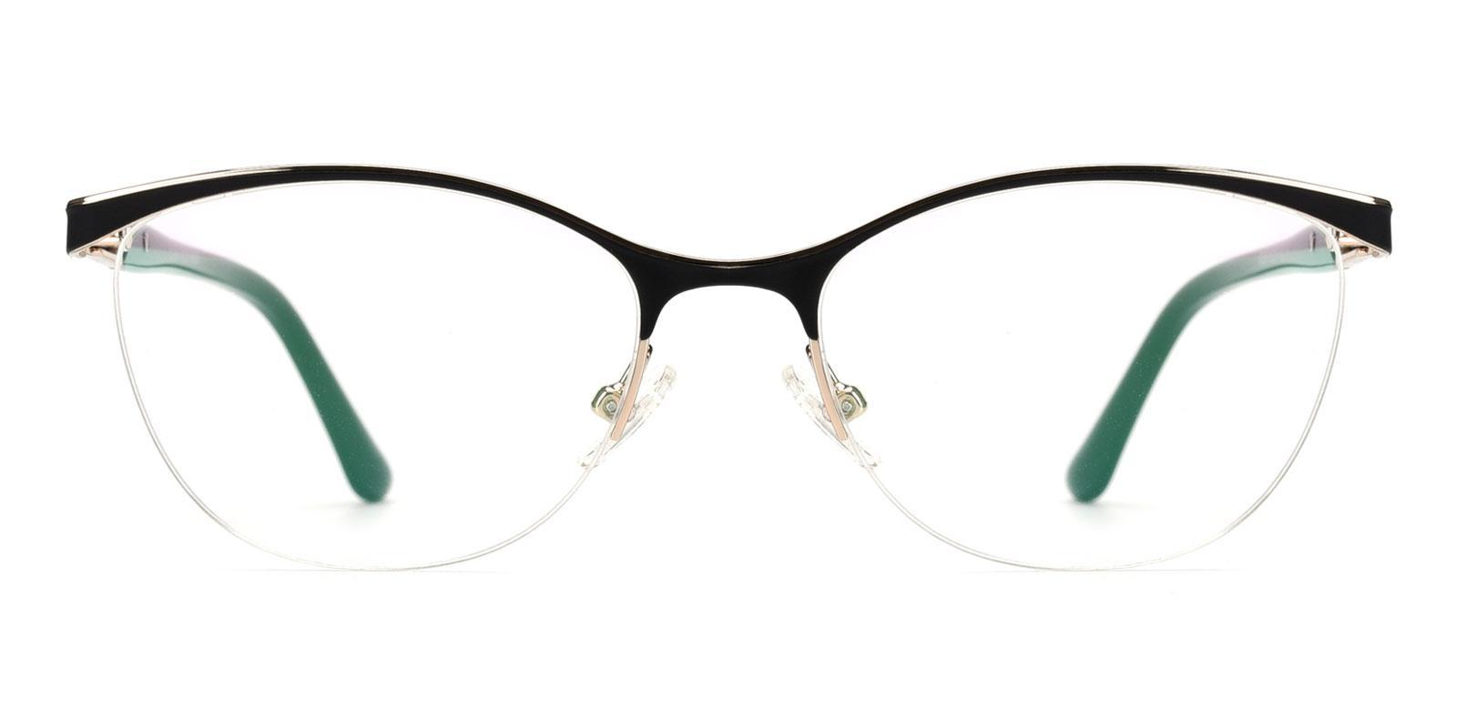 Whiskey-Black-Cat-Metal-Eyeglasses-detail