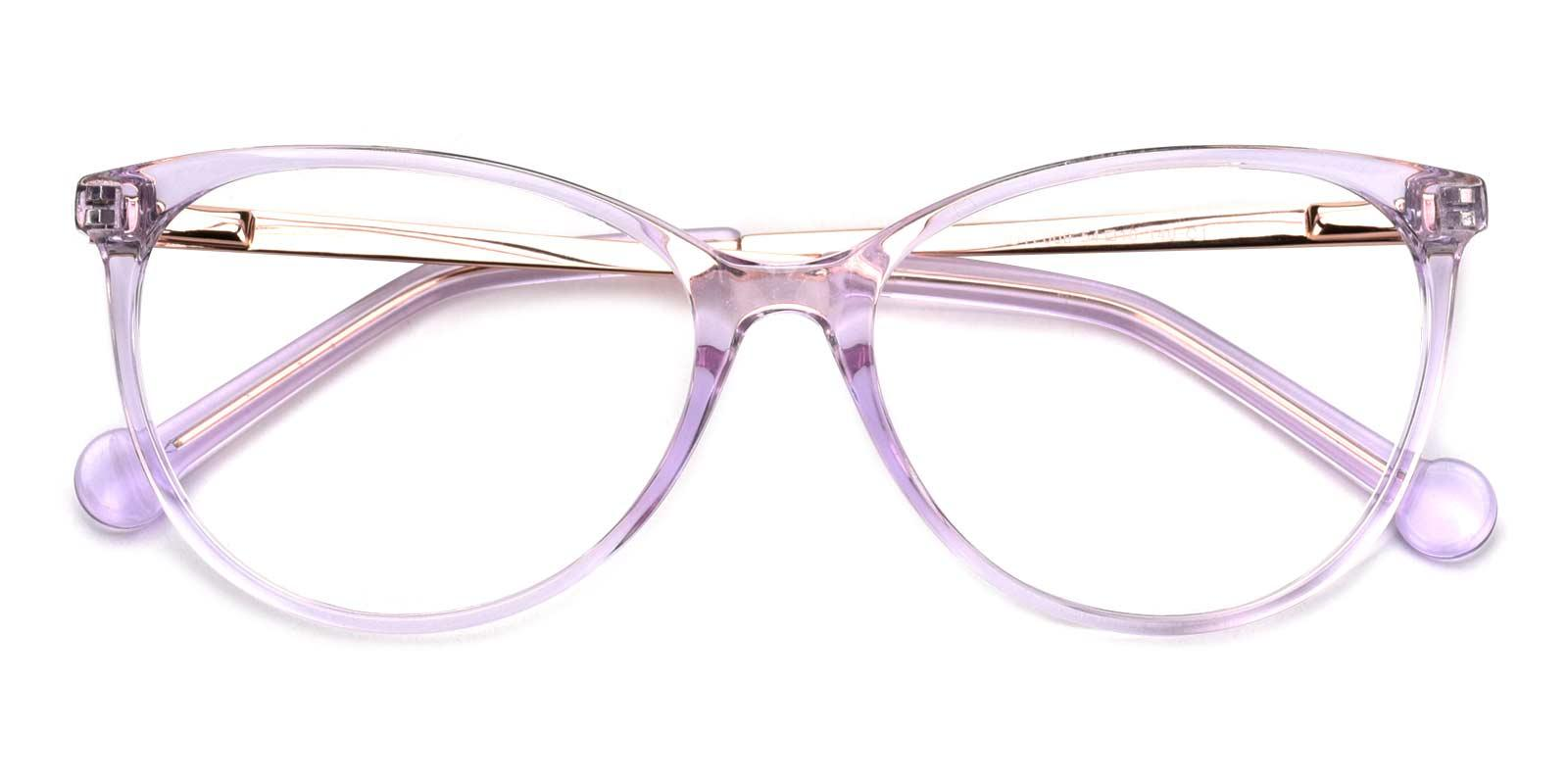 Wisteria-Purple-Cat-Acetate-Eyeglasses-detail