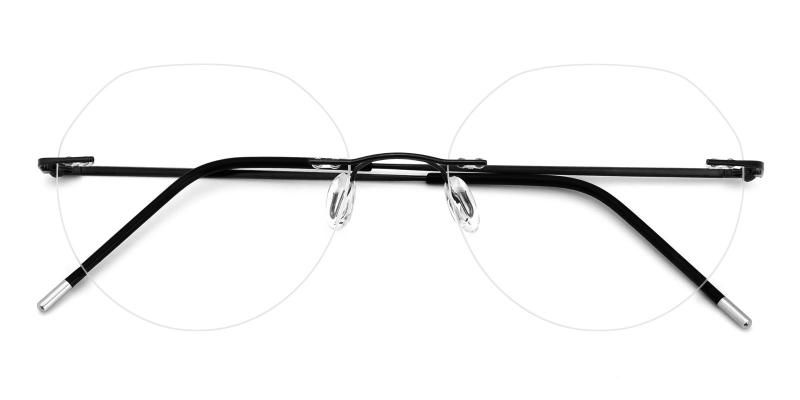 Invisible-Black-Eyeglasses