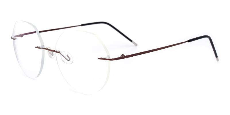 Invisible-Brown-Eyeglasses