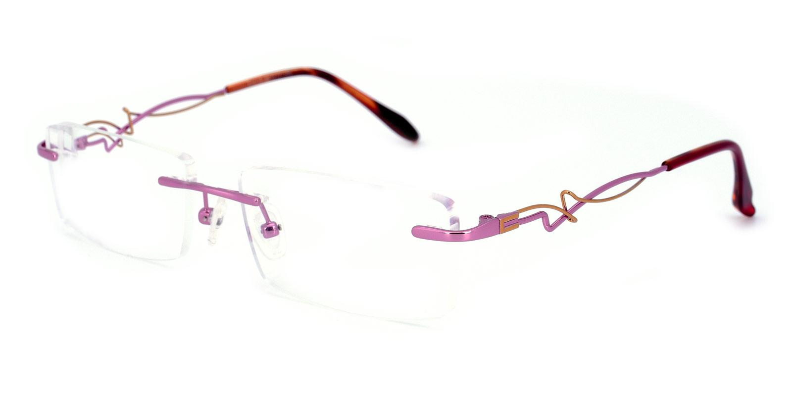 Mind-Purple-Rectangle-Metal-Eyeglasses-detail
