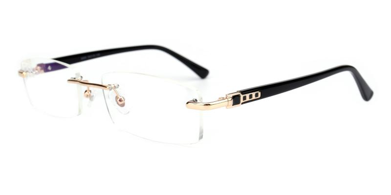 Cement-Gold-Eyeglasses