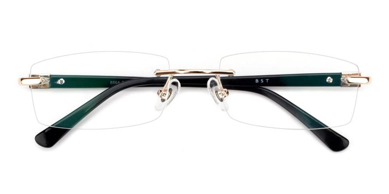 Cement-Gold-Eyeglasses