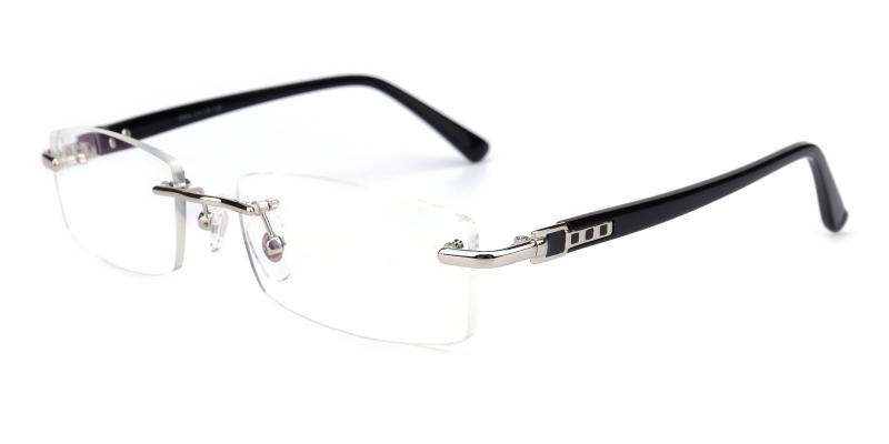 Cement-Silver-Eyeglasses