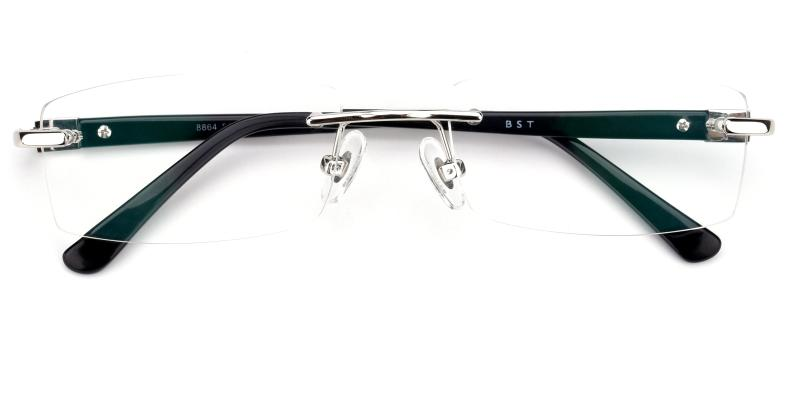 Cement-Silver-Eyeglasses