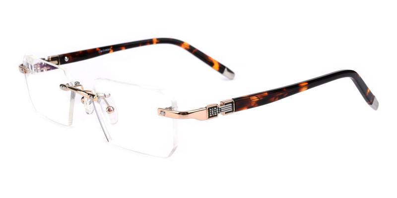 Answer-Gold-Eyeglasses