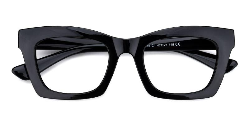 Catlady-Black-Eyeglasses