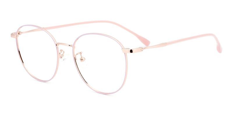 Meta-Pink-Eyeglasses