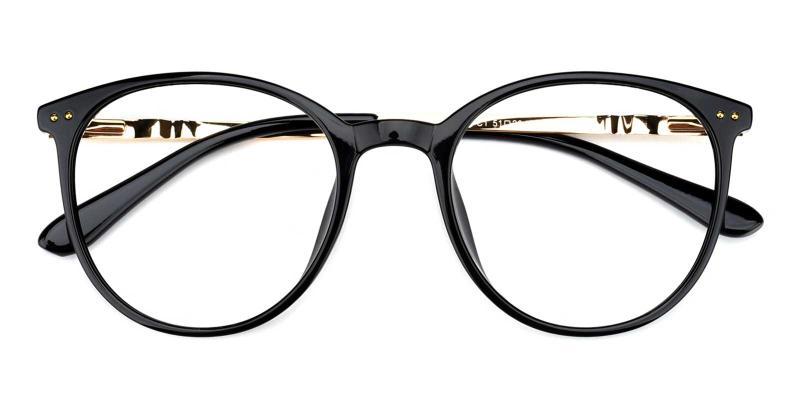Peacock-Black-Eyeglasses