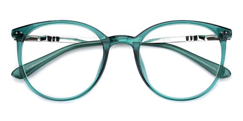 Peacock-Green-Eyeglasses