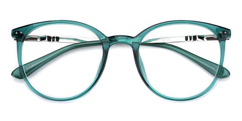 Peacock-Green-Eyeglasses