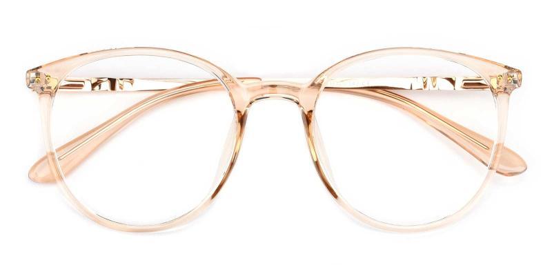 Peacock-Orange-Eyeglasses
