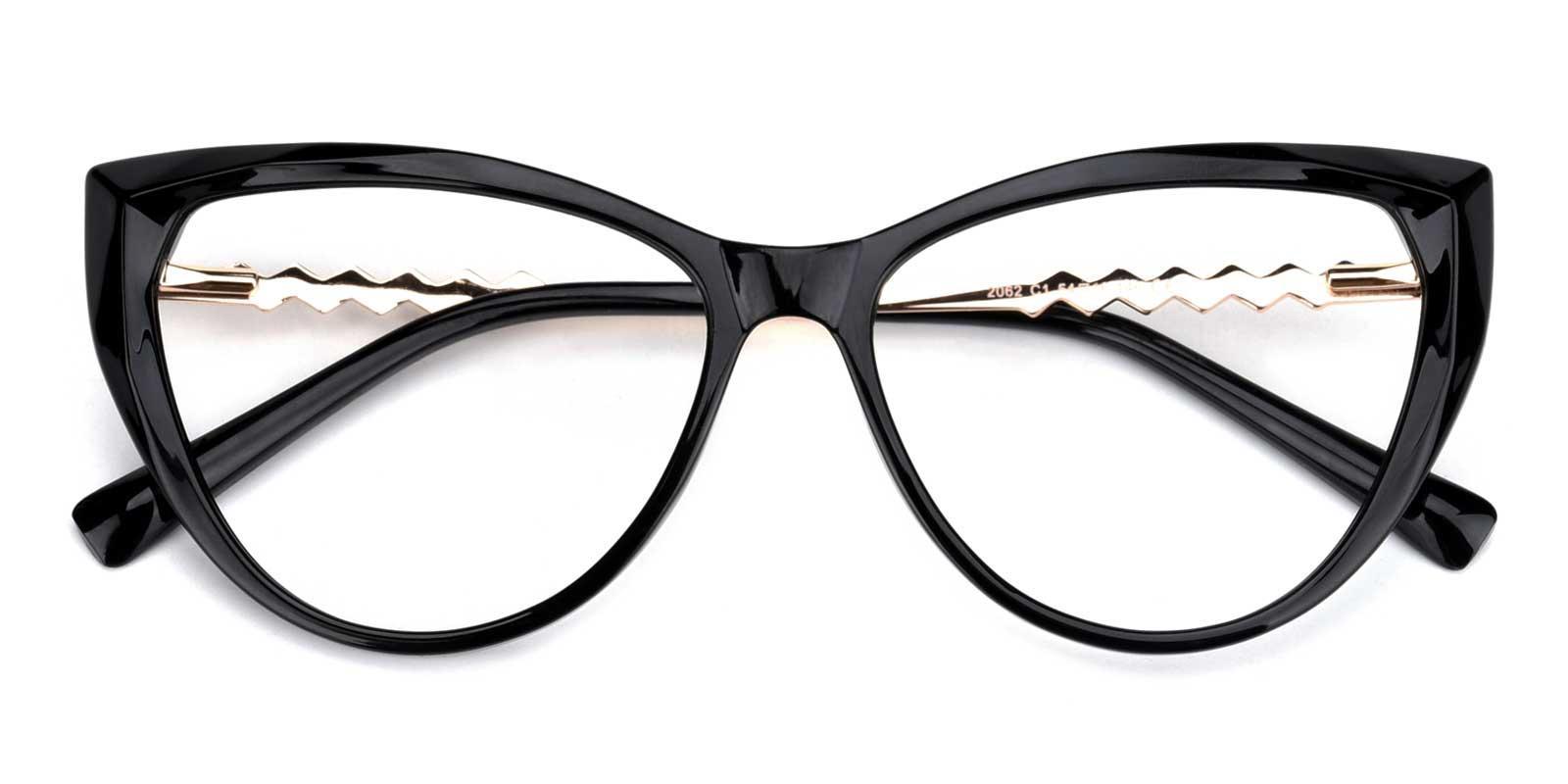 Daydream-Black-Cat-Acetate-Eyeglasses-detail