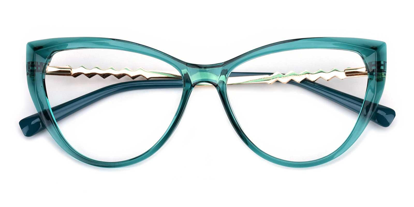 Daydream-Green-Cat-Acetate-Eyeglasses-detail