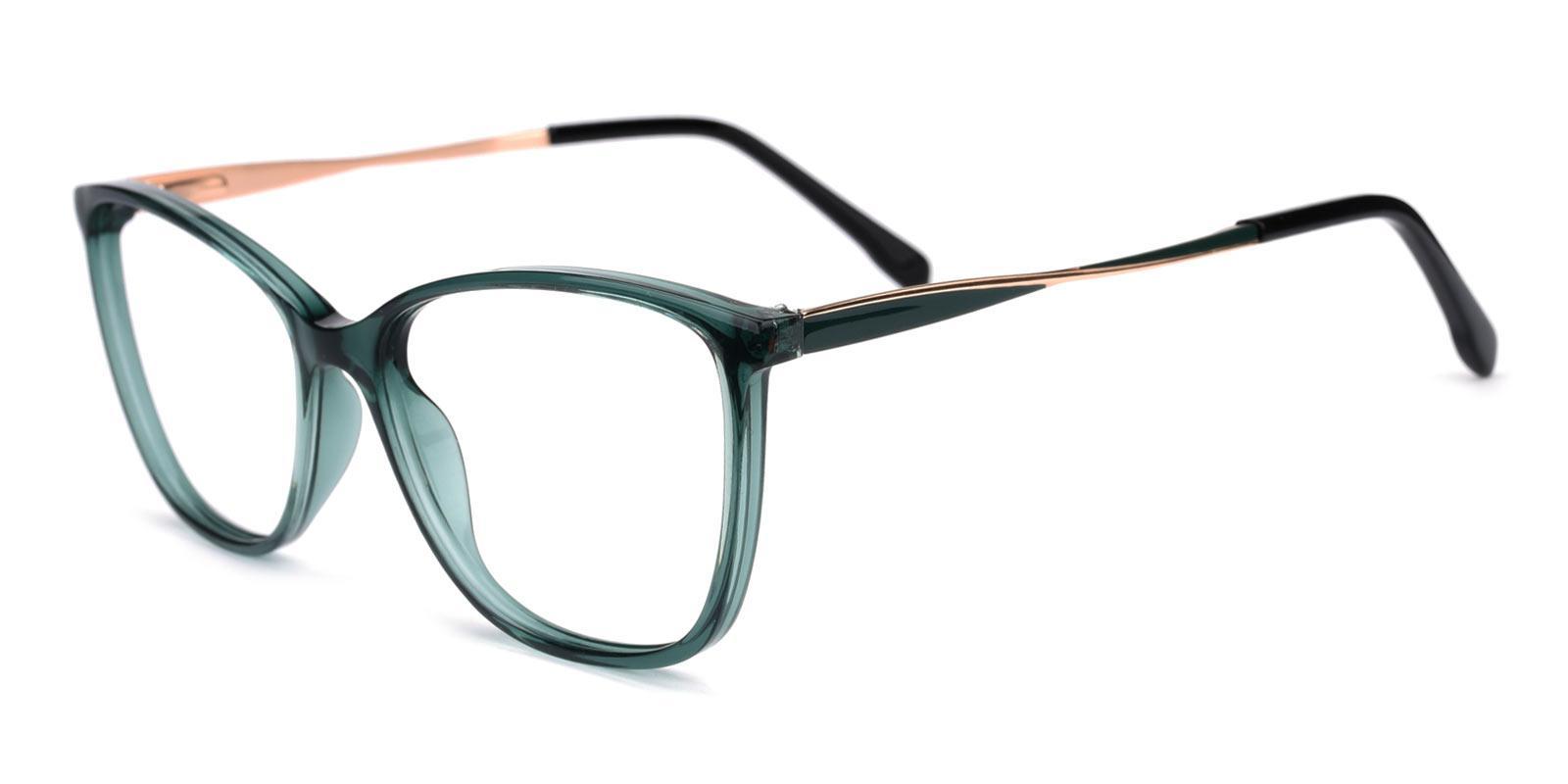 Night-Green-Cat-Acetate-Eyeglasses-detail