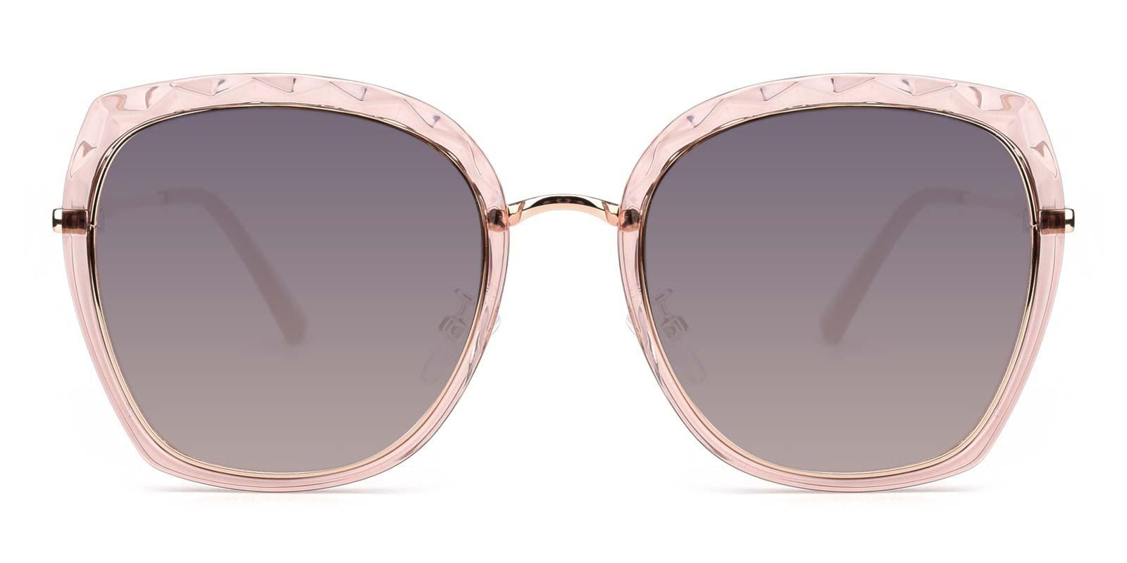 Superstar-Pink-Square-Metal-Sunglasses-detail