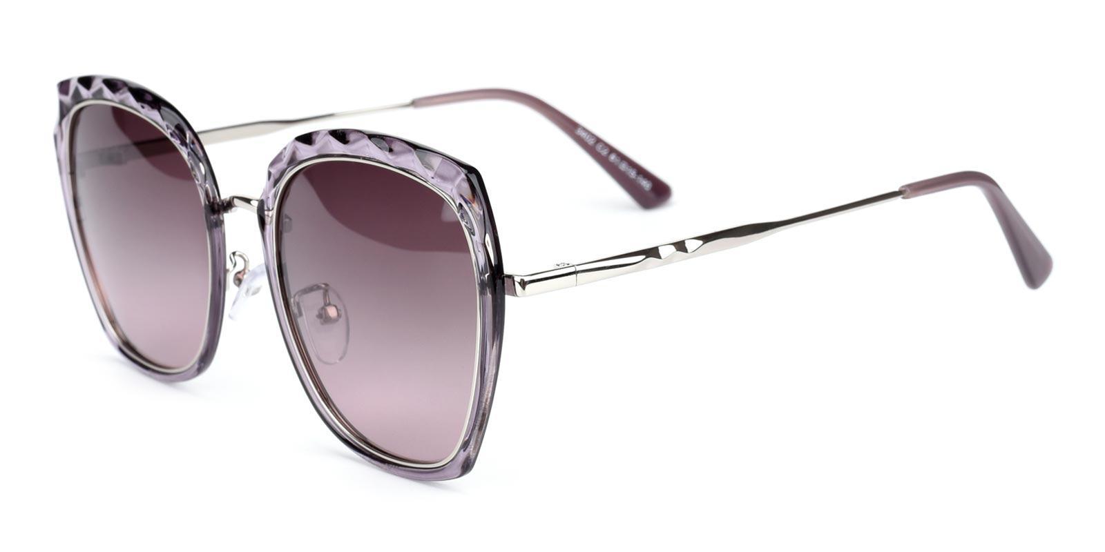 Superstar-Purple-Square-Metal-Sunglasses-detail