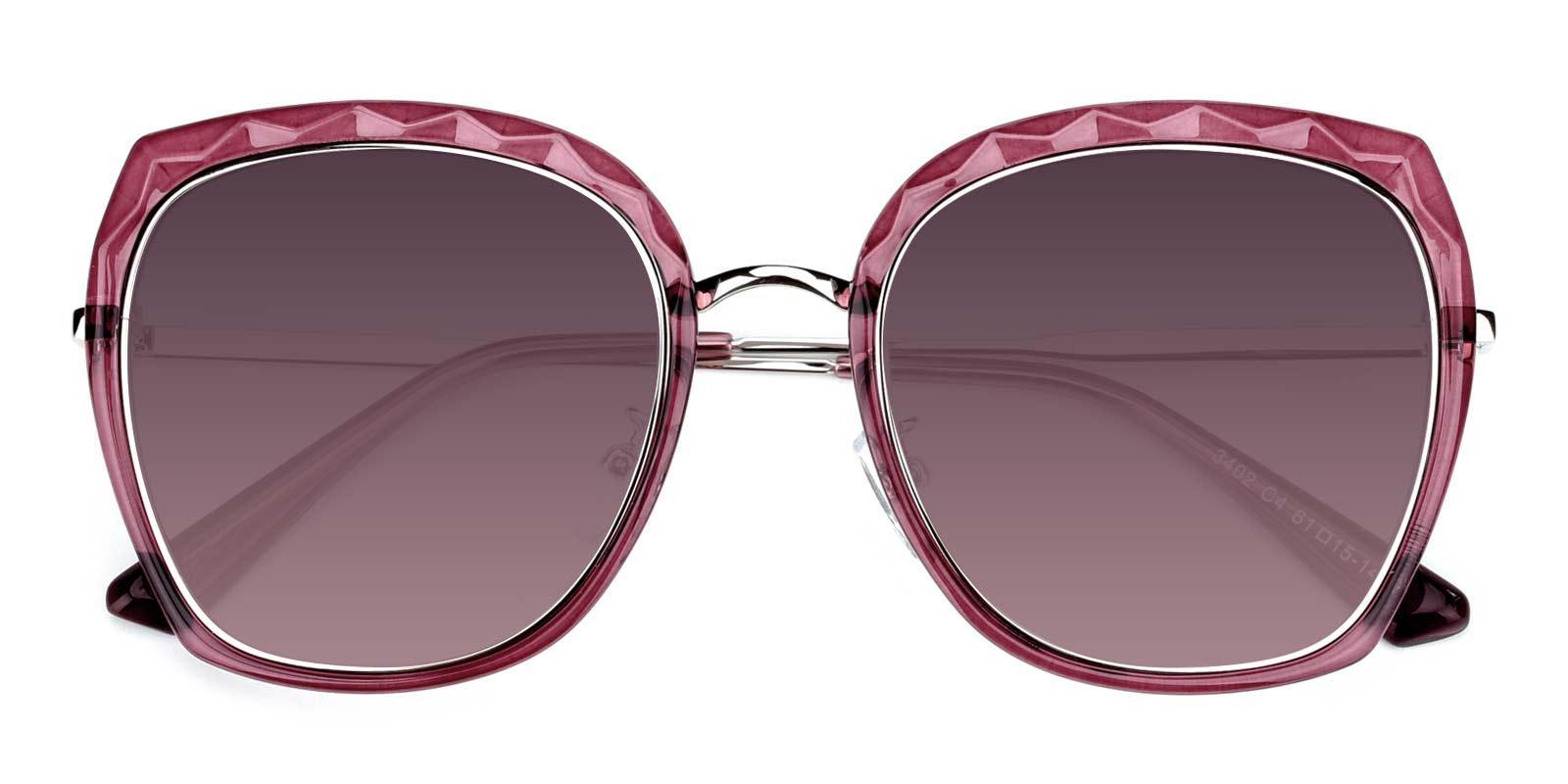 Superstar-Red-Square-Metal-Sunglasses-detail