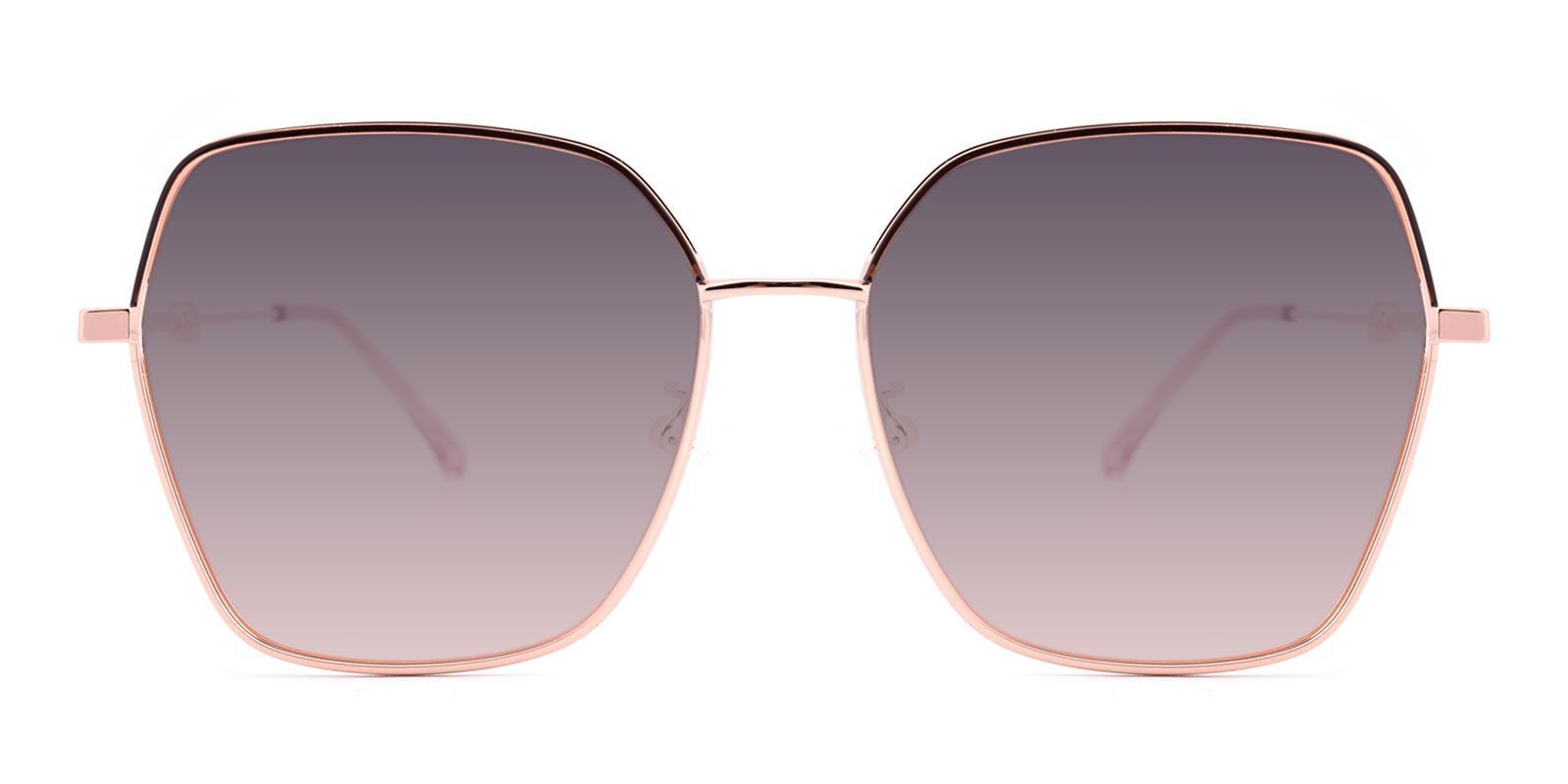 AfternoonTea-Pink-Square-Metal-Sunglasses-detail