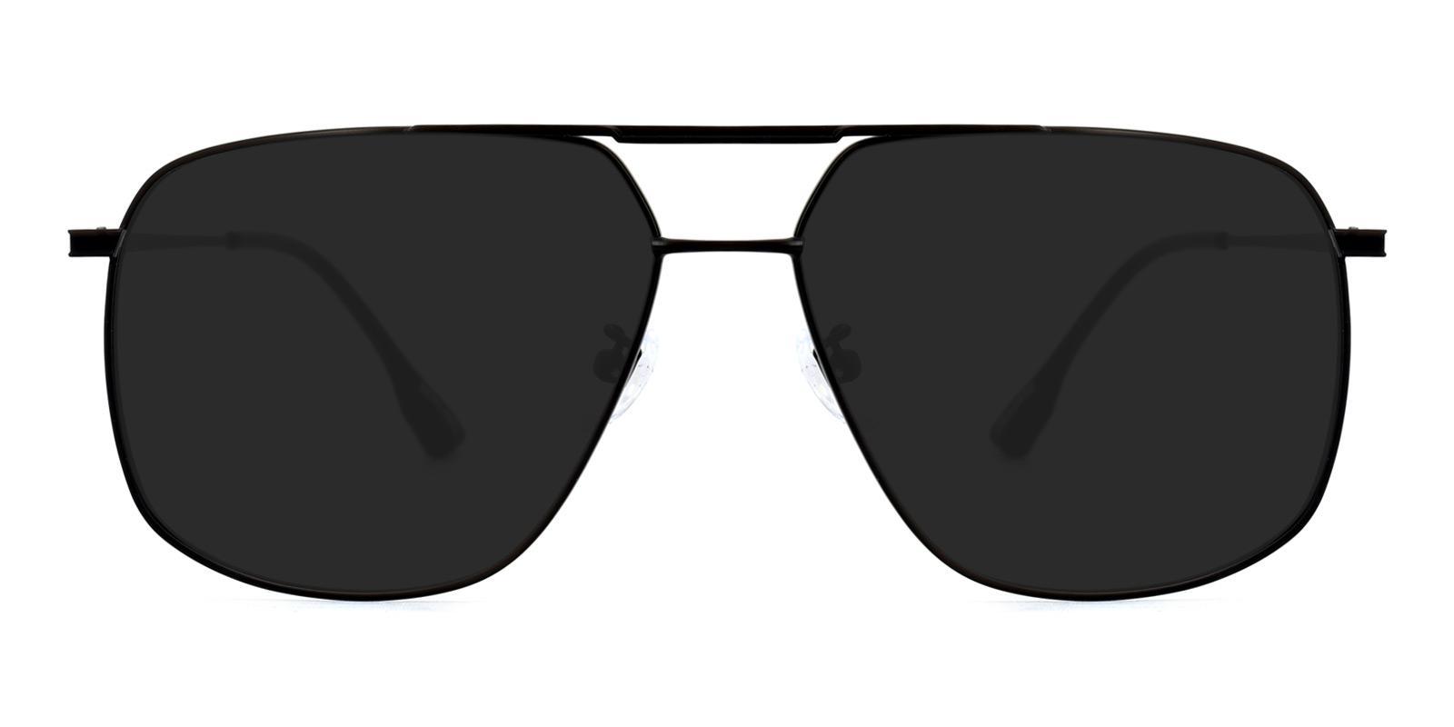 Apollo-Black-Aviator-Metal-Sunglasses-detail