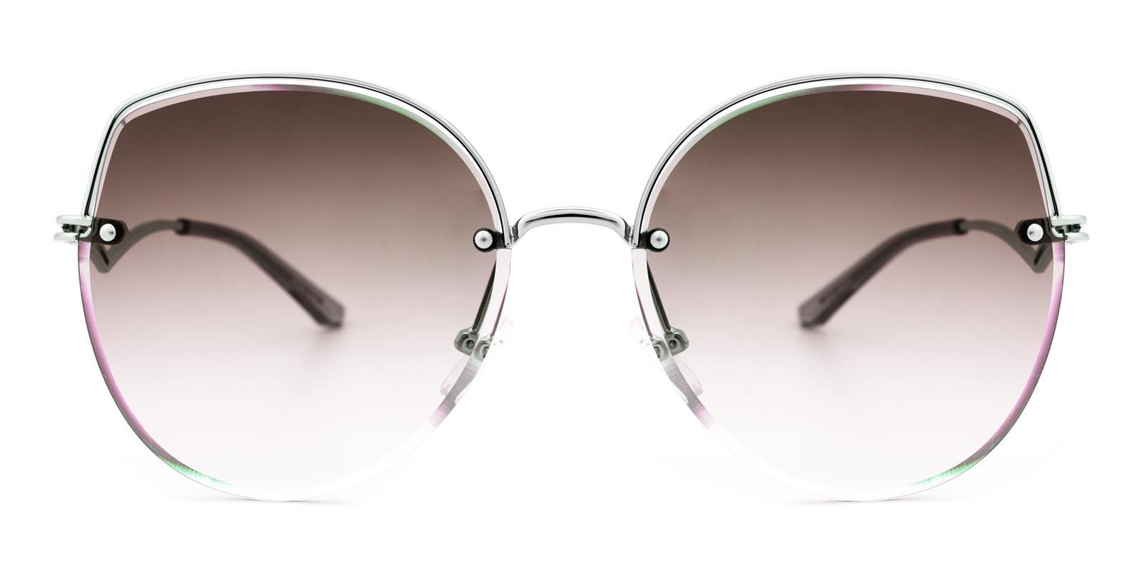Party-Silver-Cat-Metal-Sunglasses-detail