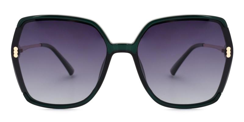 Halo-Green-Sunglasses