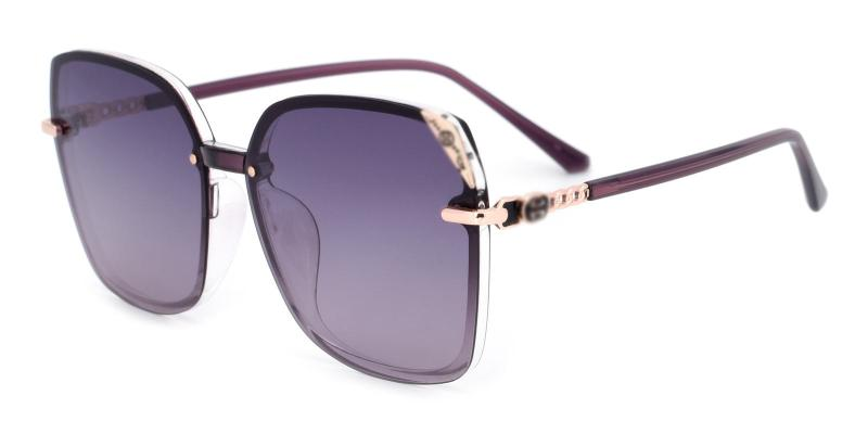 Burry-Purple-Sunglasses