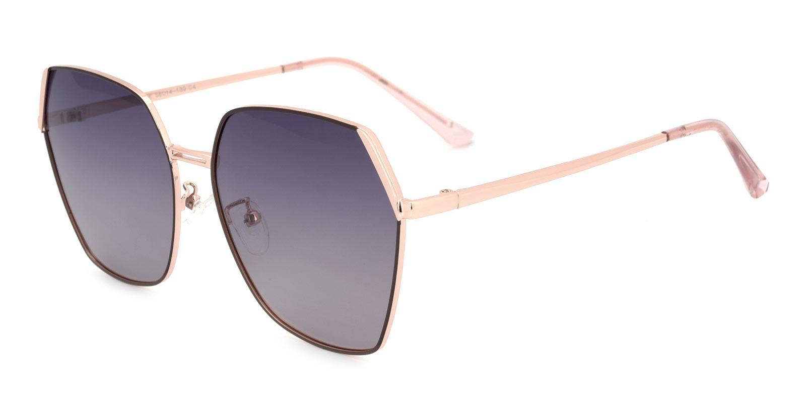 Beam-Gold-Square-Metal-Sunglasses-detail