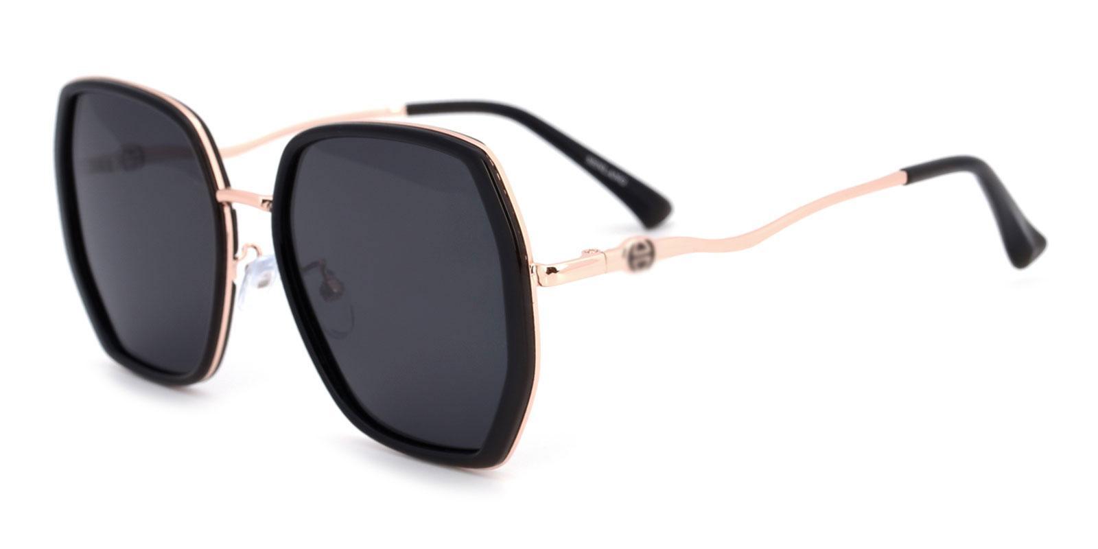 Kim-Black-Square-TR-Sunglasses-detail
