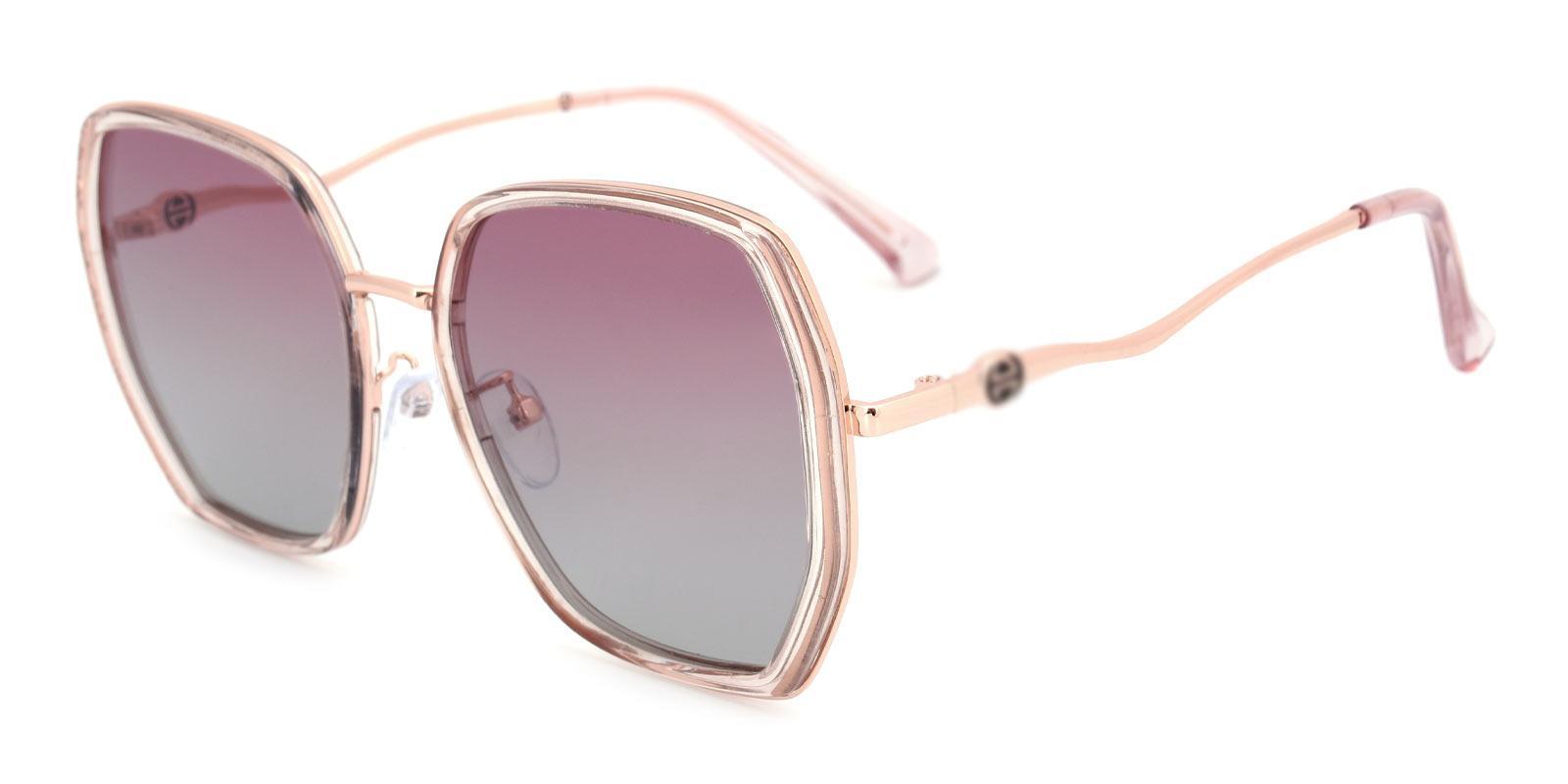 Kim-Pink-Square-TR-Sunglasses-detail