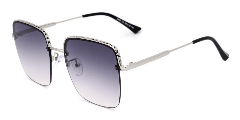 Vas-Silver-Sunglasses