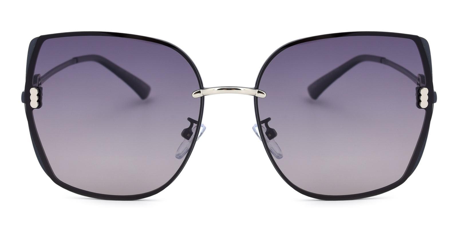 Zed-Gray-Square-Metal-Sunglasses-detail