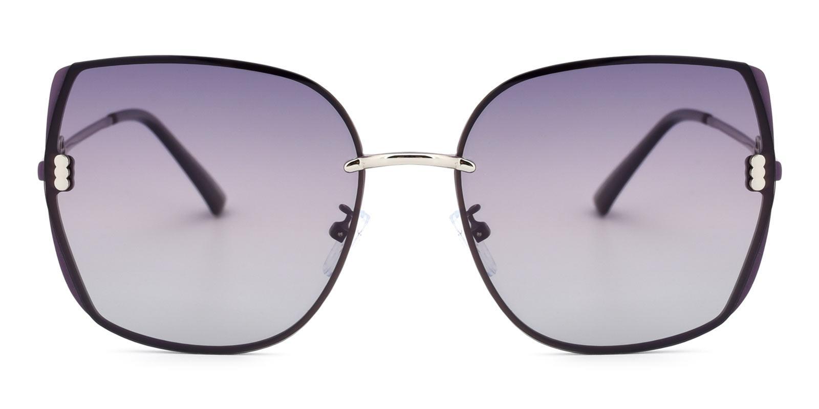 Zed-Purple-Square-Metal-Sunglasses-detail