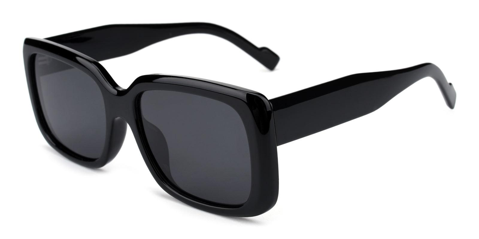 Summer-Black-Rectangle-TR-Sunglasses-detail