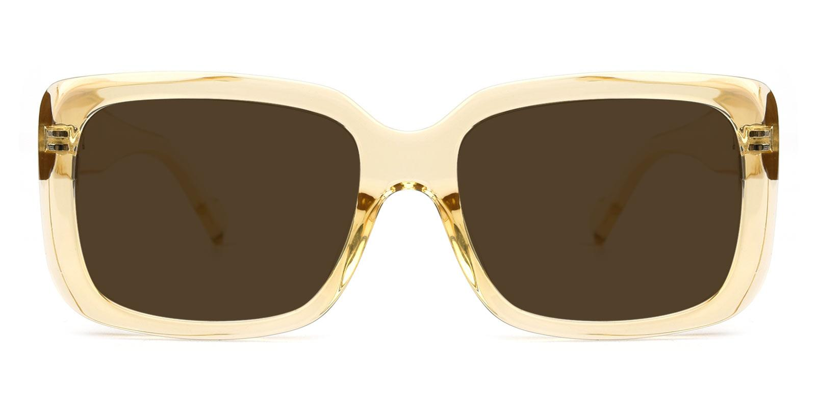 Summer-Yellow-Rectangle-TR-Sunglasses-detail